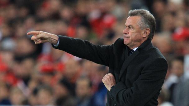 Ottmar Hitzfeld described Stoke as unexciting