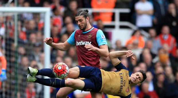 Andy Carroll bullied Arsenal's defence the last time he played against them