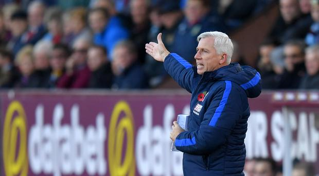 Alan Pardew is under pressure at Crystal Palace.