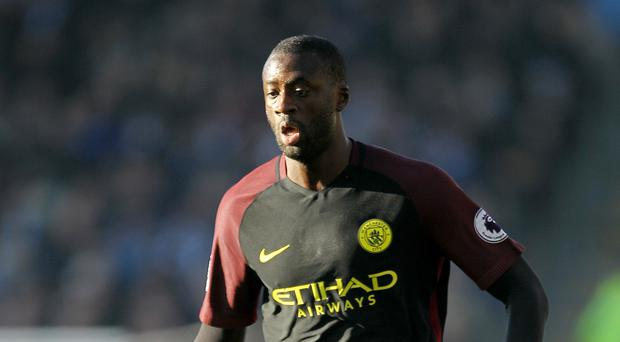 Yaya Toure is back in the picture at Manchester City