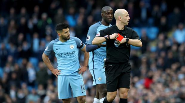 Aguero to serve four-match ban after red card against Chelsea