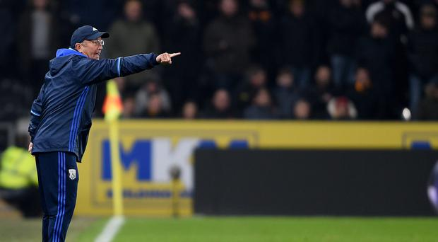 Tony Pulis points the way forward for West Brom