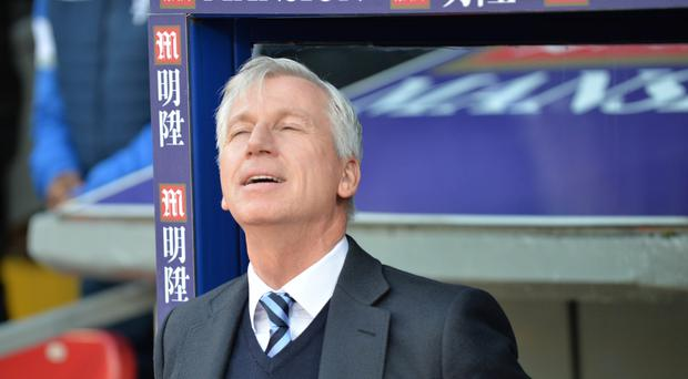 Crystal Palace manager Alan Pardew got a vital win