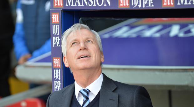 Things are looking up again for manager Alan Pardew after Crystal Palace beat Southampton 3-0