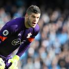 An error from Southampton goalkeeper Fraser Forster led to Crystal Palace's opening goal