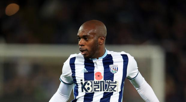 Allan Nyom has assured Watford fans he meant no disrespect with his celebration of West Brom's third goal