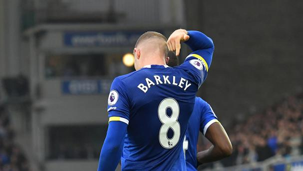 Everton midfielder Ross Barkley has been challenged to prove his worth to the team