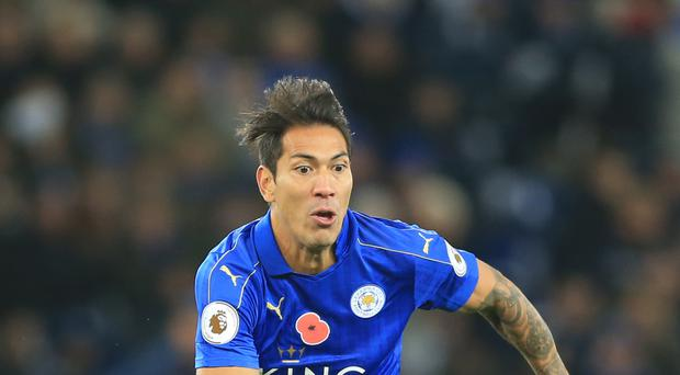 Leicester's Leonardo Ulloa is yet to start a game this season for the Premier League champions.