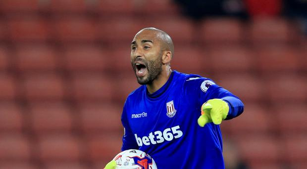 Stoke are trying to do a deal for Derby goalkeeper Lee Grant