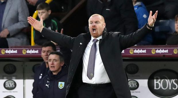 Sean Dyche oversaw another home win for Burnley