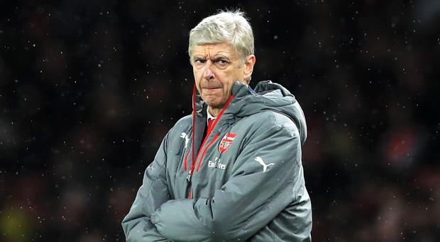 Arsenal manager Arsene Wenger enjoyed the victory over Stoke