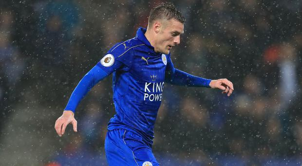 Leicester's Jamie Vardy has a spring in his step again after ending his goal drought in style