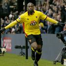 Watford's Stefano Okaka scored twice to sink Everton