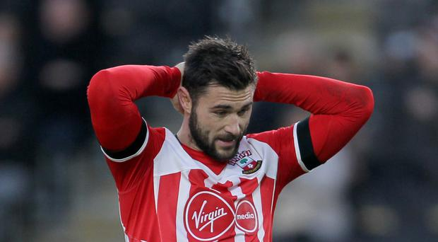 Charlie Austin could be out for as long as four months with a shoulder injury.
