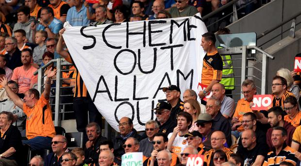 Hull's unpopular membership scheme has brought frequent protests against owners Assem and Ehab Allam