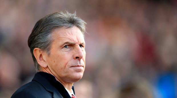 Southampton manager Claude Puel must contend with the absence of Charlie Austin