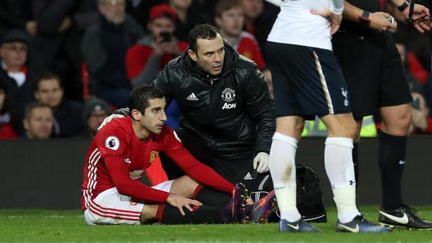 Henrikh Mkhitaryan, left, produced his latest man-of-the-match display against Tottenham
