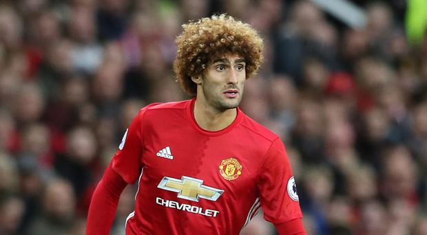 Some Manchester United fans turned on Marouane Fellaini during Sunday's win over Tottenham