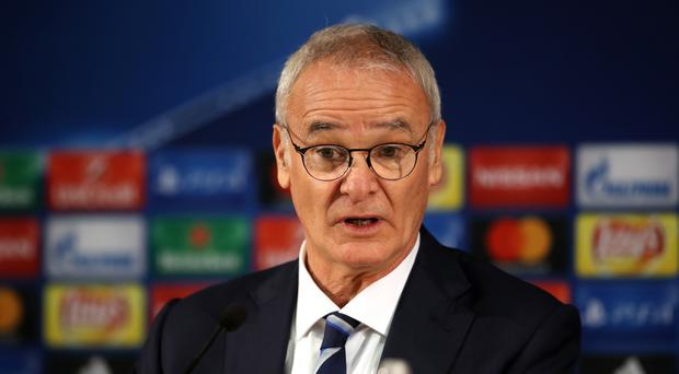 Claudio Ranieri is excited about Leicester's Champions League draw