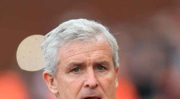 Stoke boss Mark Hughes started his club management career with Blackburn in 2004.