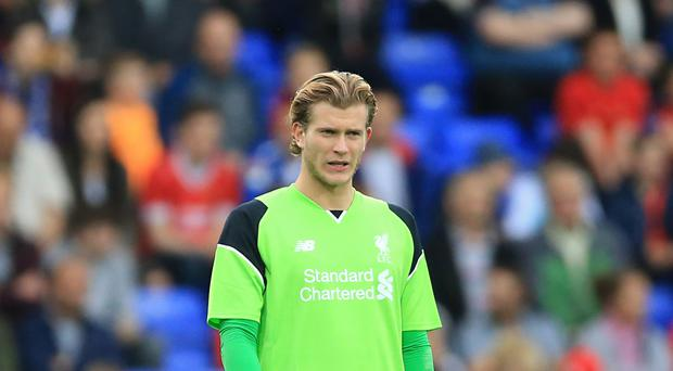 Loris Karius must fight to win his place back in the Liverpool team.