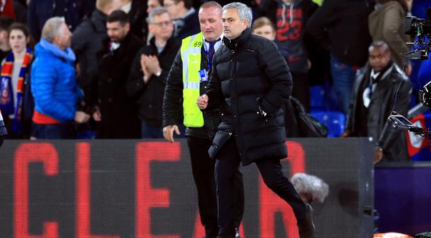 Jose Mourinho saw his Manchester United side win at Crystal Palace on Wednesday night.