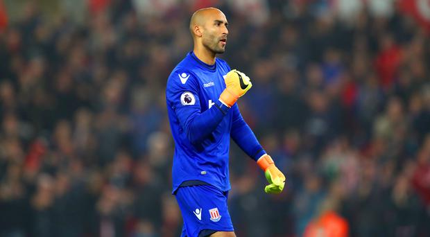 Stoke goalkeeper Lee Grant produced a man-of-the-match display against Southampton