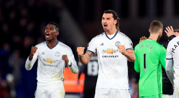 Zlatan Ibrahimovic, Manchester United's number nine, has escaped retrospective punishment from the Football Association.