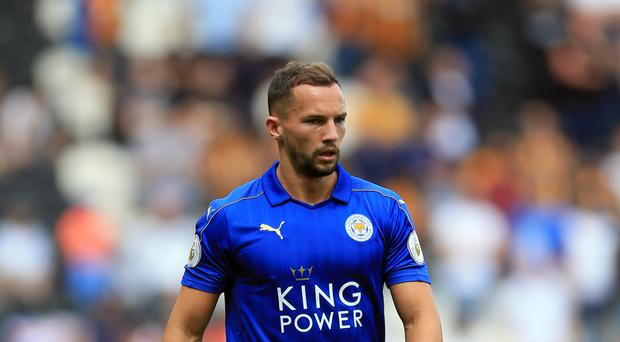 Leicester midfielder Danny Drinkwater is hoping of shaking off a knee injury to face Stoke.