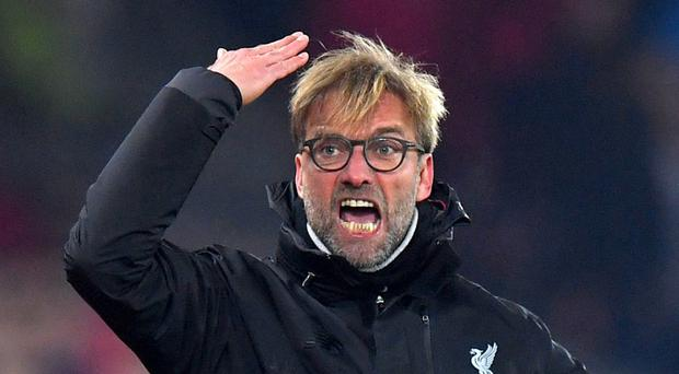 Liverpool manager Jurgen Klopp came across Goodison Park while watching a Rocky film on Thursday
