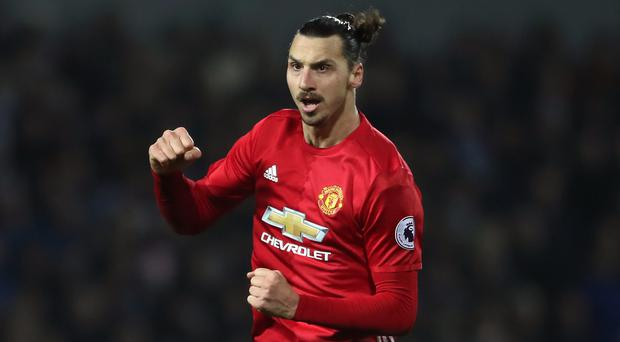 Zlatan Ibrahimovic scored both goals to help Manchester United to victory against West Brom