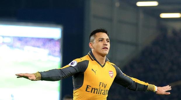 Alexis Sanchez has been in superb form for Arsenal