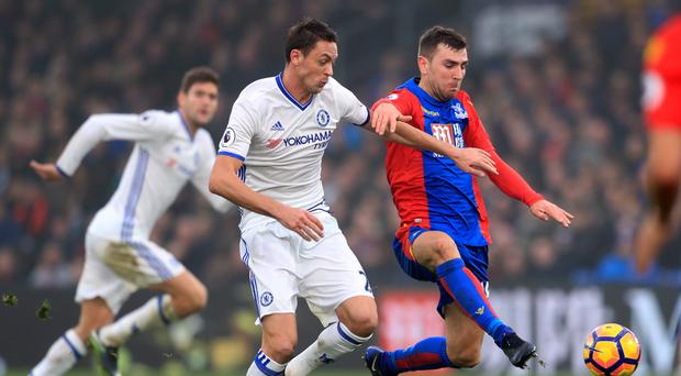 Nemanja Matic played in Chelsea's 11th straight Premier League win, at Crystal Palace on Saturday