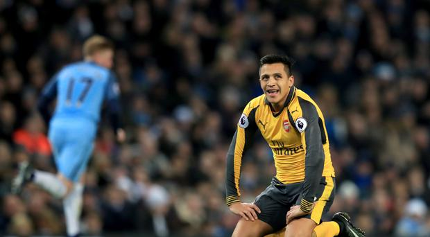 It was a mixed bag for Alexis Sanchez on Sunday