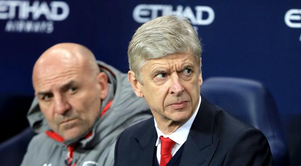 Arsenal manager Arsene Wenger complained about the officials after defeat at Manchester City