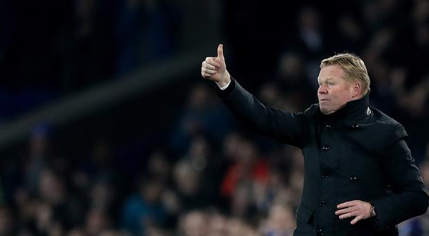 Everton manager Ronald Koeman is confident he will get the backing he needs.