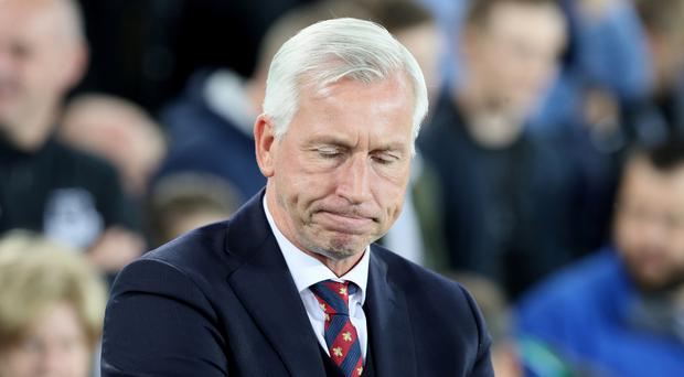 Crystal Palace have sacked manager Alan Pardew