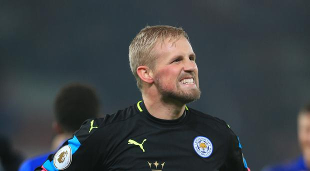 Leicester goalkeeper Kasper Schmeichel has kept six clean sheets in 16 games this season