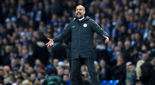 Manchester City manager Pep Guardiola is working through Christmas for the first time
