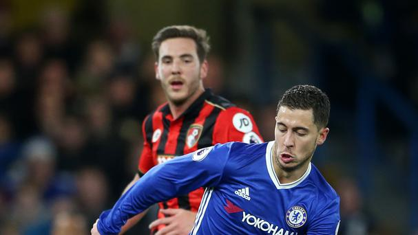 Eden Hazard scored his 50th goal for Chelsea in an impressive performance