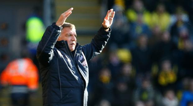 Crystal Palace manager Sam Allardyce had to settle for a draw in his first match in charge