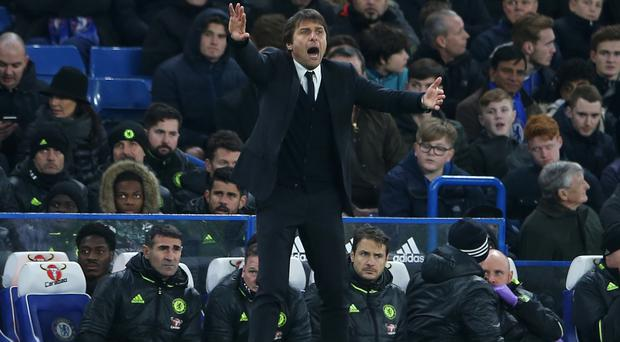 Antonio Conte has steered Chelsea to 12 straight Premier League wins