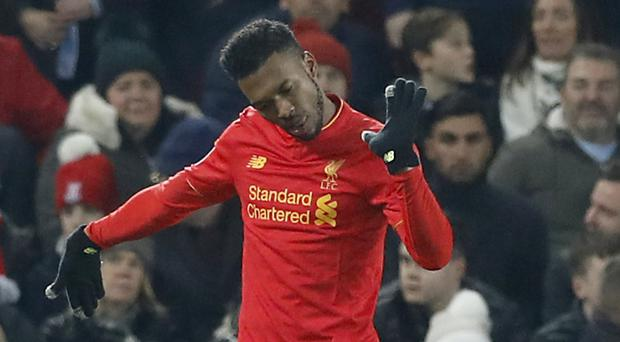 Daniel Sturridge capped Liverpool's 4-1 victory over Stoke with his first Premier League goal of the season