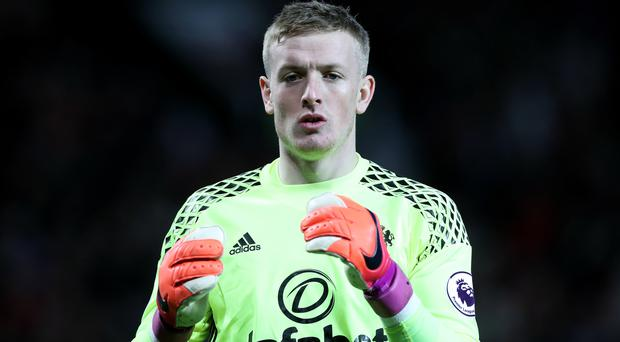 Jordan Pickford is set for a spell on the sidelines