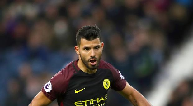 Sergio Aguero is back for the Liverpool game