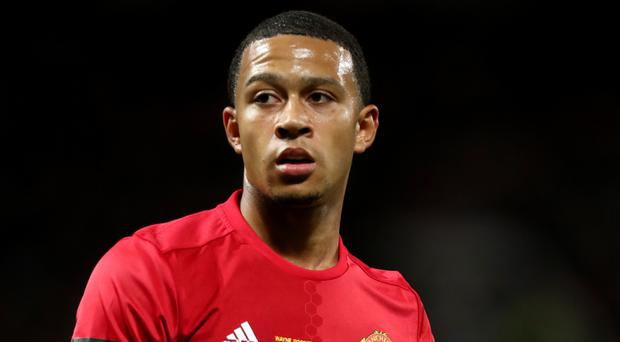 Memphis Depay is yet to start a Premier League game this season