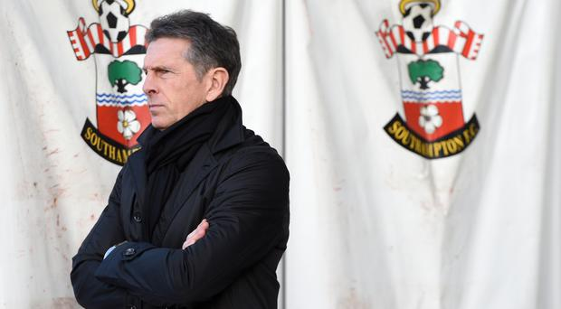 Claude Puel is not panicking after the defeat to West Brom