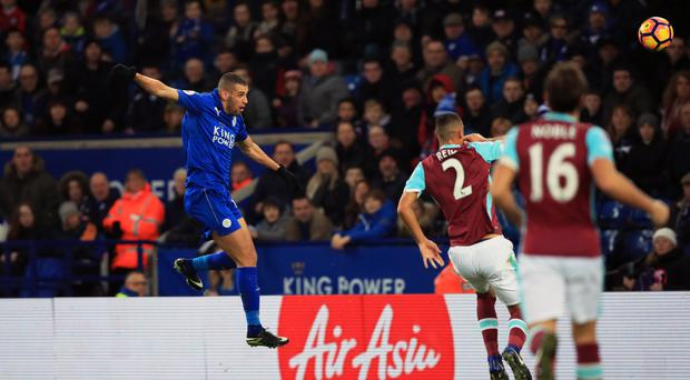 Islam Slimani scored Leicester's winner in their 1-0 victory over West Ham on Saturday.