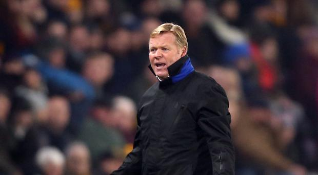Ronald Koeman faces former club Southampton on Monday