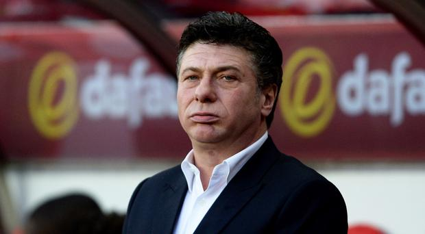 Walter Mazzarri's Watford face Stoke on Tuesday